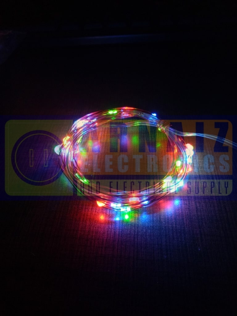 Led Copper String Fairy Pixie Lights 50 Leds 5 Meters